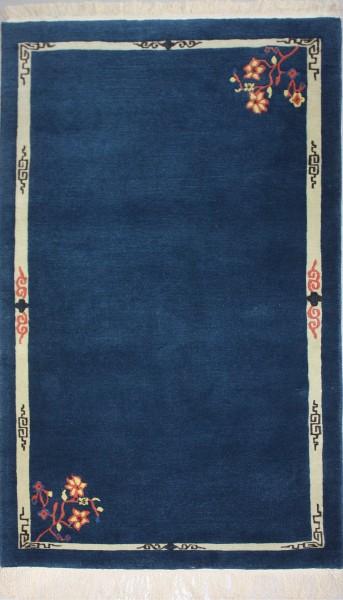 Teppich Chinese Garden, Wolle, 92x162cm