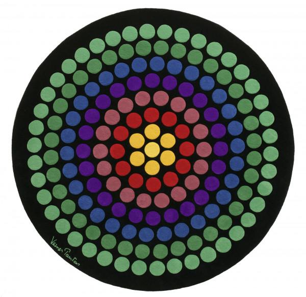Rug Verner Panton VP8 Rainbow
