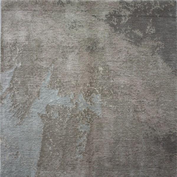 carpet painting, silk mohair, 100x100cm
