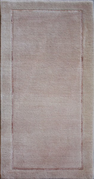 Stripes carpet, wool, 63x121cm
