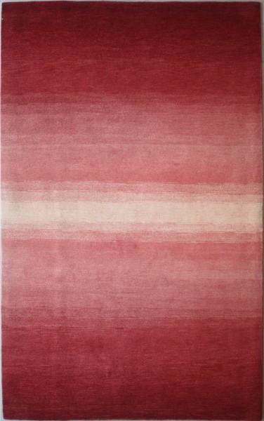 Carpet colour gradient, wool, 124x180cm