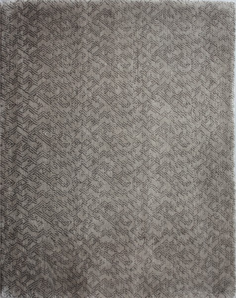 Carpet Just Taupe, silk, 100x80cm