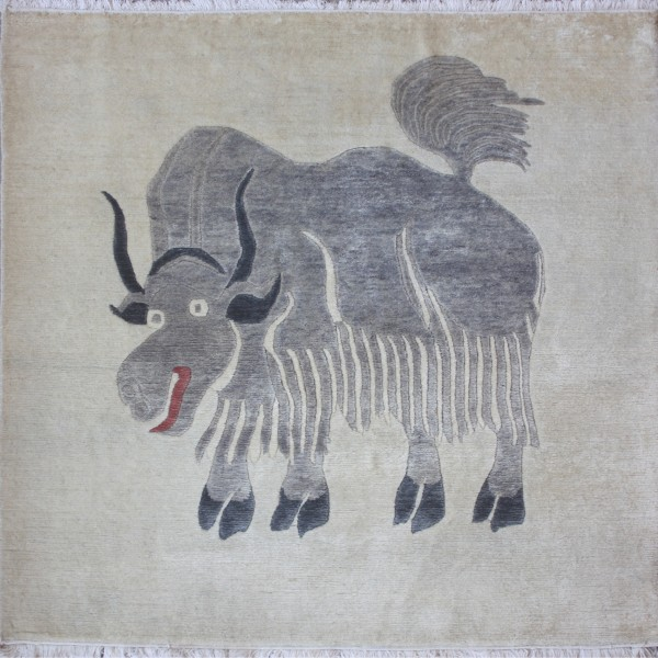Carpet Yak, wool, 120x120cm
