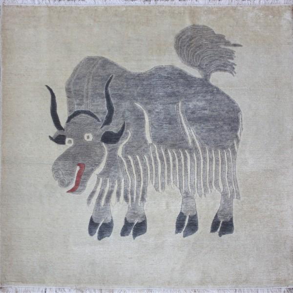 Teppich Yak, Wolle, 120x120cm