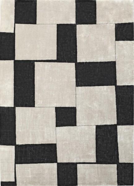 Carpet Voltaire lava, silk, 250x350cm