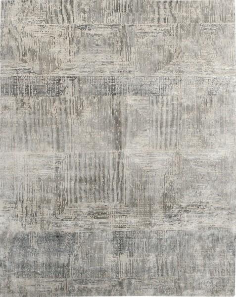 Carpet Labyrinth, wool, bamboo fibre