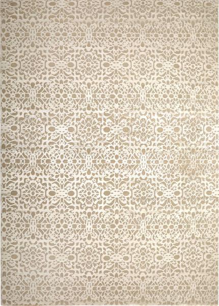 Teppich Mauresque Seide Wolle