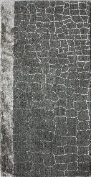 Carpet Alligator, viscose, wool, 100x50cm