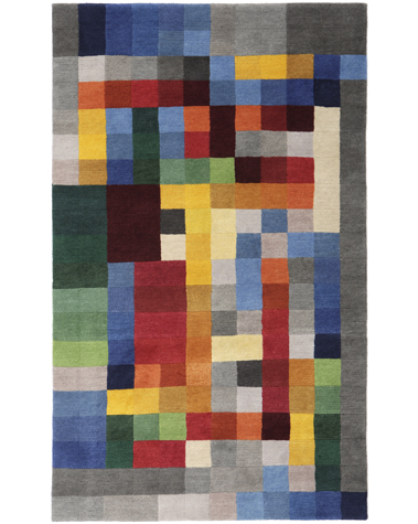 Bauhaus Teppich von Gertrud Arndt