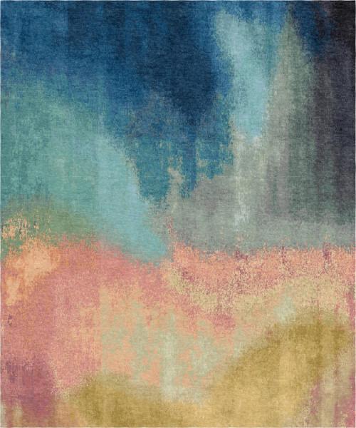 Carpet Five Elements, wool, silk