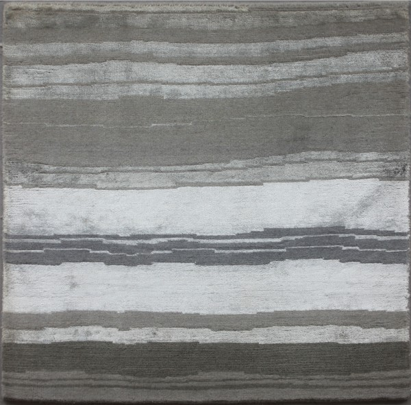 Carpet Calacatta, viscose, wool, 60x60cm